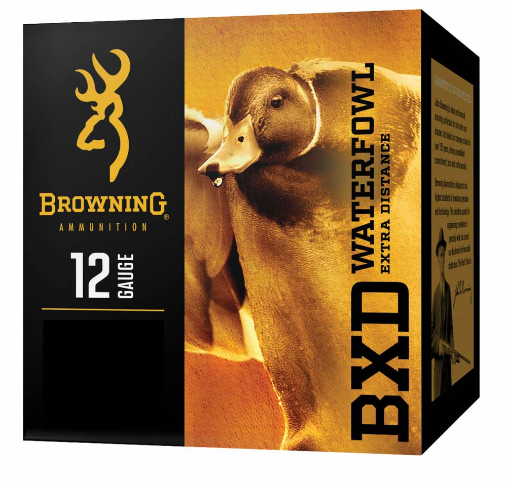 Browning Ammo BXD Extra Distance 12 Ga Steel Waterfowl 3