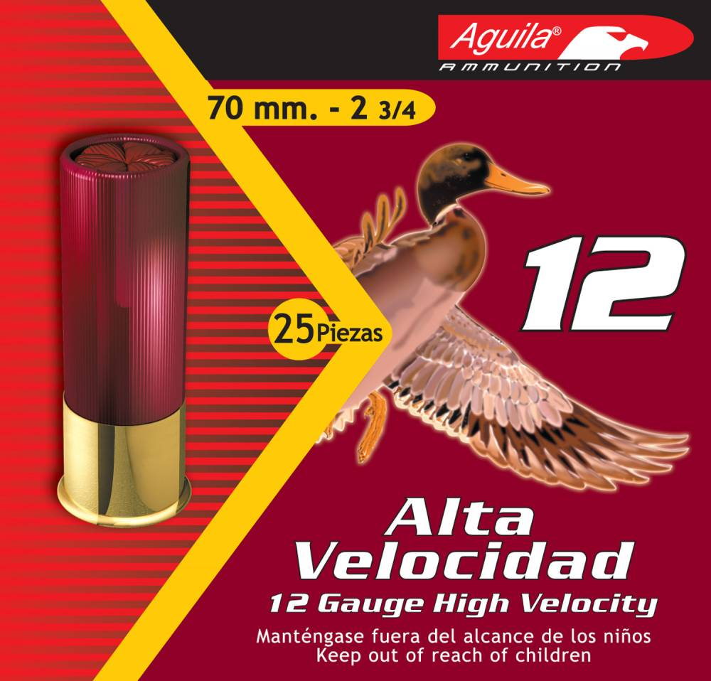 Aguila Hunting High Velocity 12 Gauge 2.75