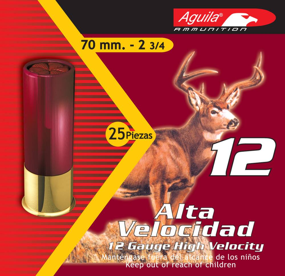 Aguila Hunting High Velocity 12 Gauge 2.75