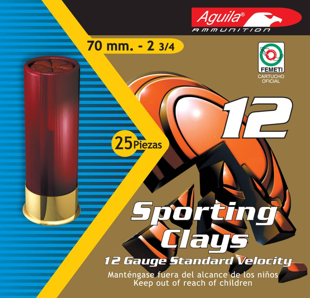 Aguila Competition High Velocity Sporting Clay 12 Gauge 2.75