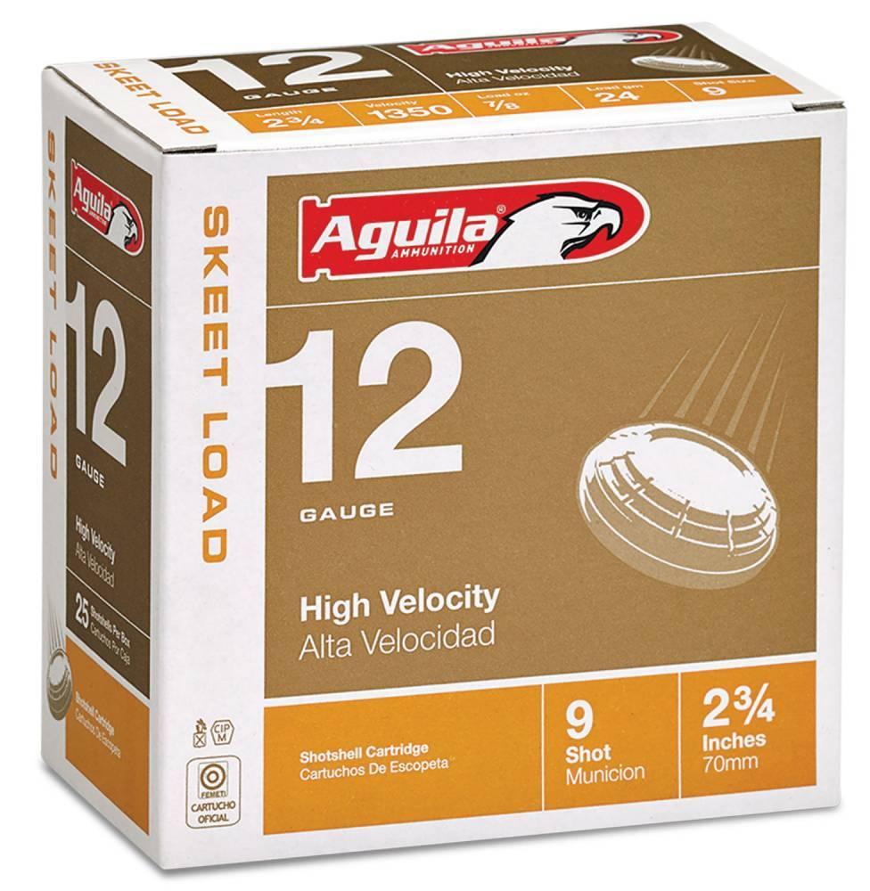 Aguila Competition Skeet 12 Gauge 2.75