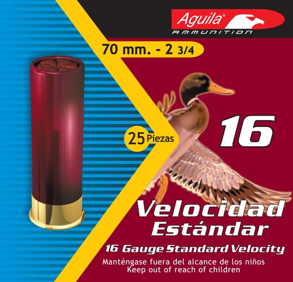 Aguila Hunting Standard Velocity 16 Gauge 2.75