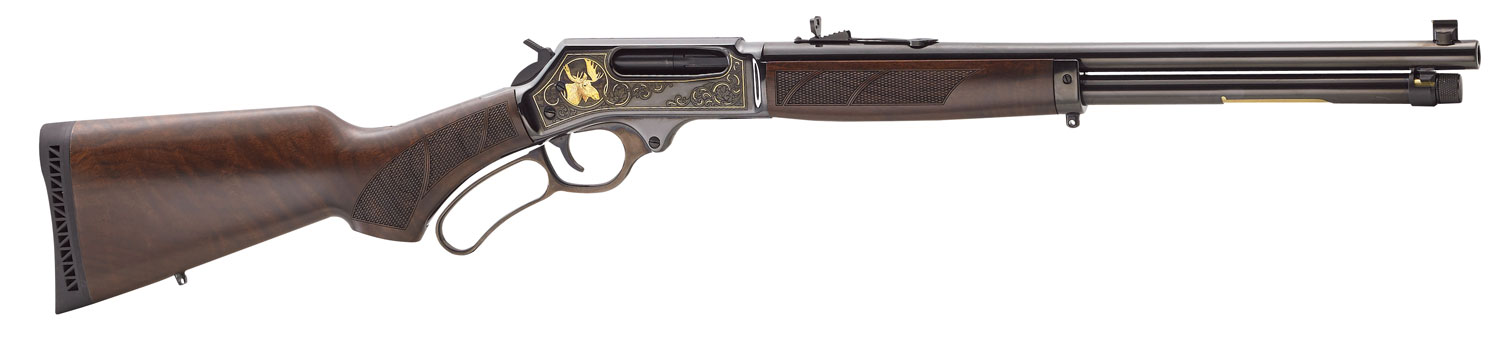 Henry Steel Wildlife Edition Lever 45-70 Government 18.43