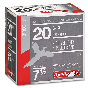 Aguila Field High Velocity 20 Gauge 2.75