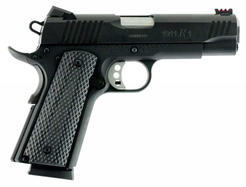 Remington Firearms 1911 R1 Ultralight Single 45 Automatic Colt Pistol (ACP) 4.25