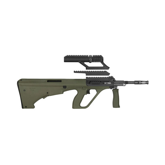 """Steyr AUG A3 M1 Semi-Automatic 223 Remington/5.56 NATO 16"""" 30+1 1.5X Optic Synthetic Green Stk"""