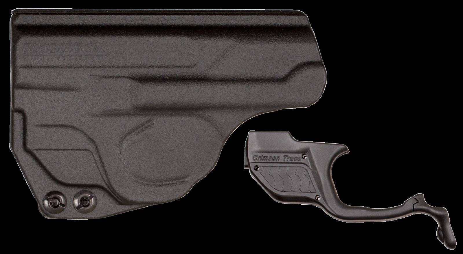 Crimson Trace Laserguard Green Laser S&W M&P Shield 9/40 Trigger Guard Blk Polymer with Holster