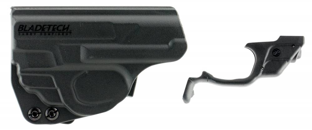 Crimson Trace LG489HBT Laserguard Red Laser S&W M&P Shield Trigger Guard Blk Polymer with Holster
