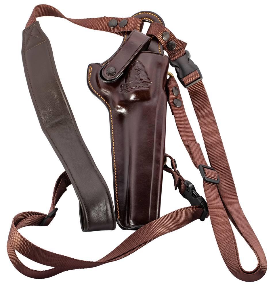 Galco KK130H Kodiak  Havana Brown Leather Shoulder Ruger RedHawk/Super RedHawk 7.5