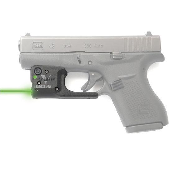 viridian reactor 5 glock 42 green laser w holste  shoot