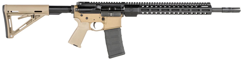 "FN 3631209 FN 15 Tactical II 5.56x45mm NATO 16"" 30+1 Black Hard Coat Anodized Flat Dark Earth Adj Magpul MOE SL Stock"