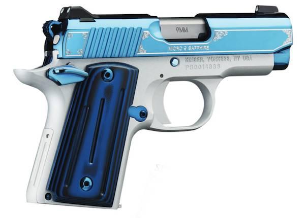 KIMBER 9mm MICRO 9 SAPPHIRE