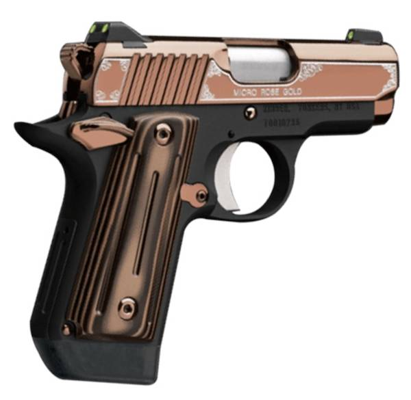 KIMBER 9mm MICRO ROSE GOLD PISTOL