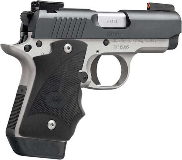 Kimber Micro 9 Stainless Dn Tfx Pro Sight Hogue: Micro 9 Two-Tone (DN)/TFX Pro Sights Hogue Grips 3300195