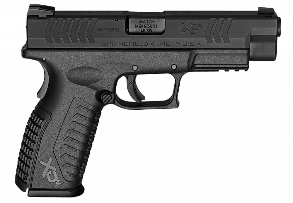 Springfield Armory XD(M) Full Size 40 Smith & Wesson (S&W) Double 4.5