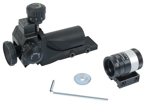 ANSCHUTZ SIGHT SET COMPLETE FOR TARGET RIFLES