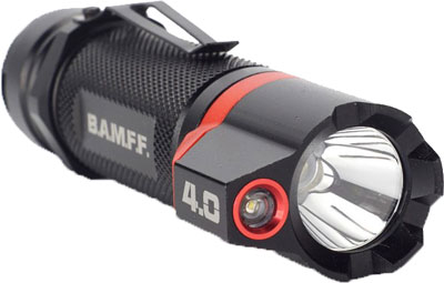 STRIKER BAMFF 4.0 400 LUMENS DUAL CREE LED FLSHLGHT W/FLOOD