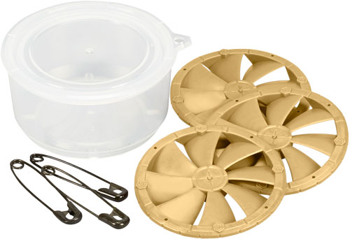 HS WAFER BLADE 2 HOT DOES SCENT 3-PACK