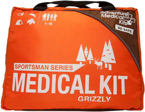 AMK SPORTSMAN MEDICAL KIT GRIZZLY SERIES 1-14PPL/14 DAYS