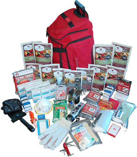 WISE DELUXE SURVIVAL KIT 2 WEEK IN DUFFLE BAG