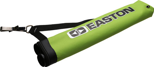 EASTON FLIPSIDE 2-TUBE HIP QUIVER FITS RH & LH FLO GREEN