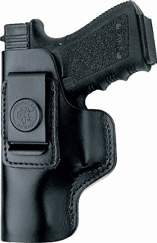 DESANTIS INSIDER HOLSTER IWB LH LEATHER SHIELD 9/40/45 BLK