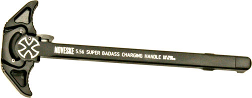 NOVESKE CHARGING HANDLE 5.56MM SUPER BADASS AMBI AR-15 BLACK