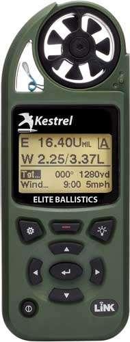 KESTREL 5700 ELITE W/APPLIED BALLISTICS AND LINK OLIVE DRAB