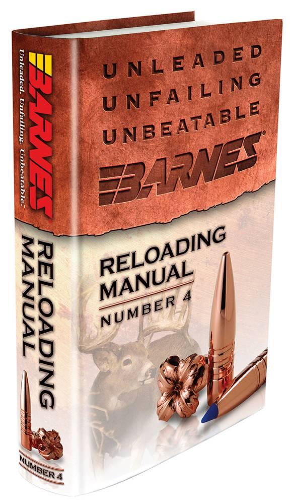 Barnes Bullets 30745 Reloading Manual Number 4 Barnes ...