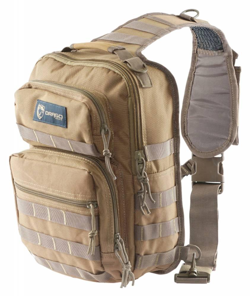 Drago Gear Sentry Pack iPad/Tablet Tan Backpack Tan 600 Denier 13