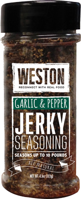 WESTON GARLIC & PEPPER JERKY DUST