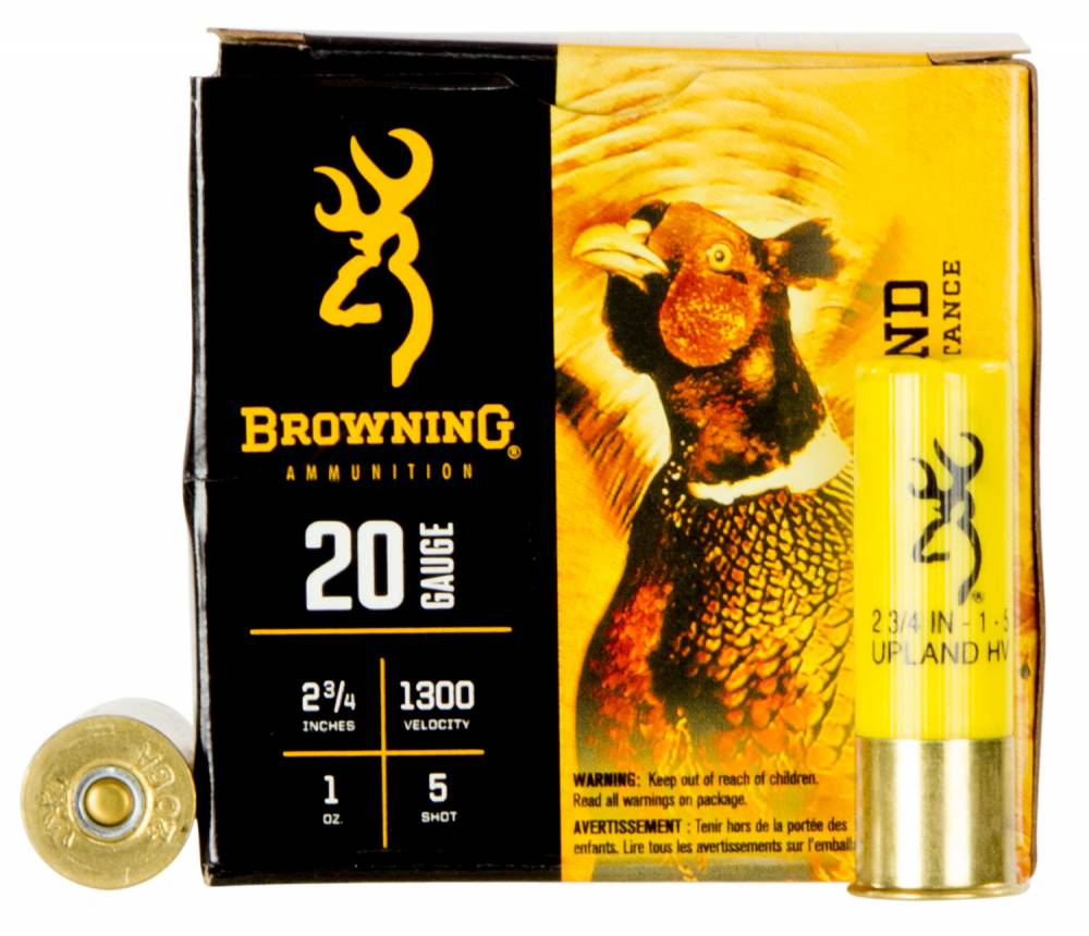 Browning Ammo BXD Extra Distance Upland 20 Ga 2.75