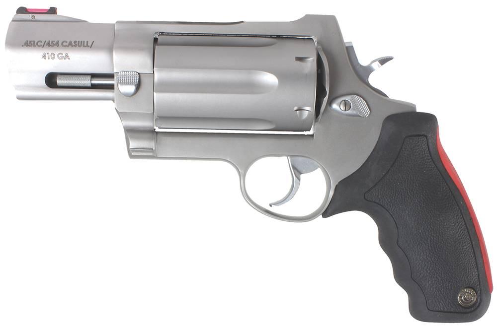"Taurus 2513039 513 Raging Judge 410/45LC/454 Casull 3"" Barrel 3"" Mag SS"