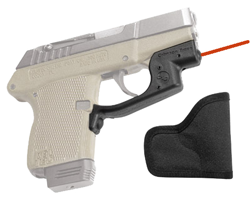 Crimson Trace LG430H Laserguard with Holster Red Laser Kel-Tec P32/P3AT Trigger Guard Black