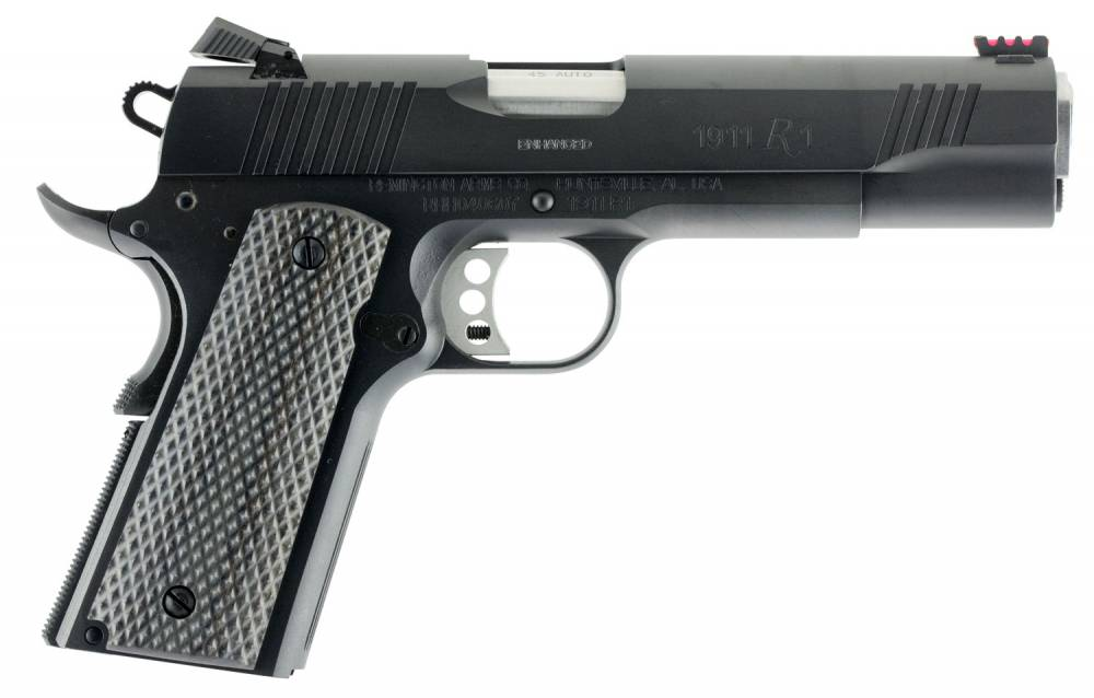 Remington Firearms 1911 R1 Enhanced Single 45 Automatic Colt Pistol (ACP) 5