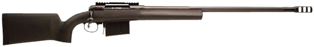"Savage 19481 10/110 FCP 338 Lapua Mag 26"" 5+1 Matte Black Fixed HS Precision w/V-Block Stock"