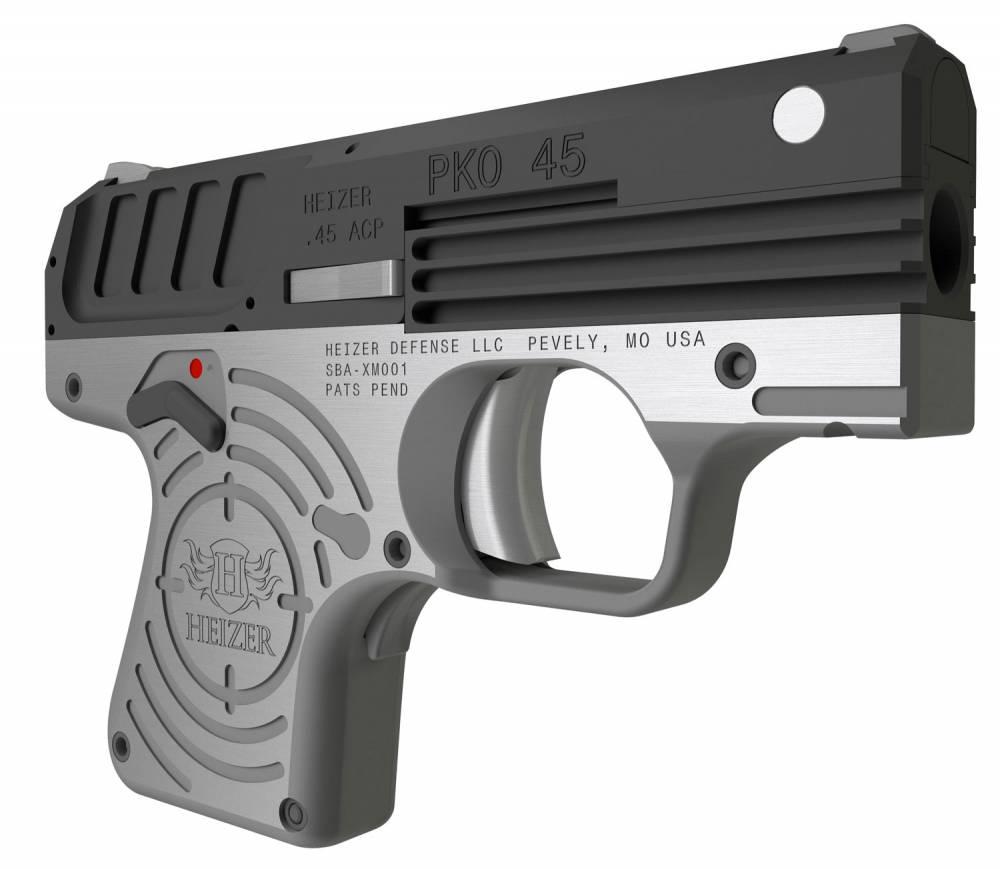 Heizer PKO 45 Single 45 Automatic Colt Pistol (ACP) 2.75