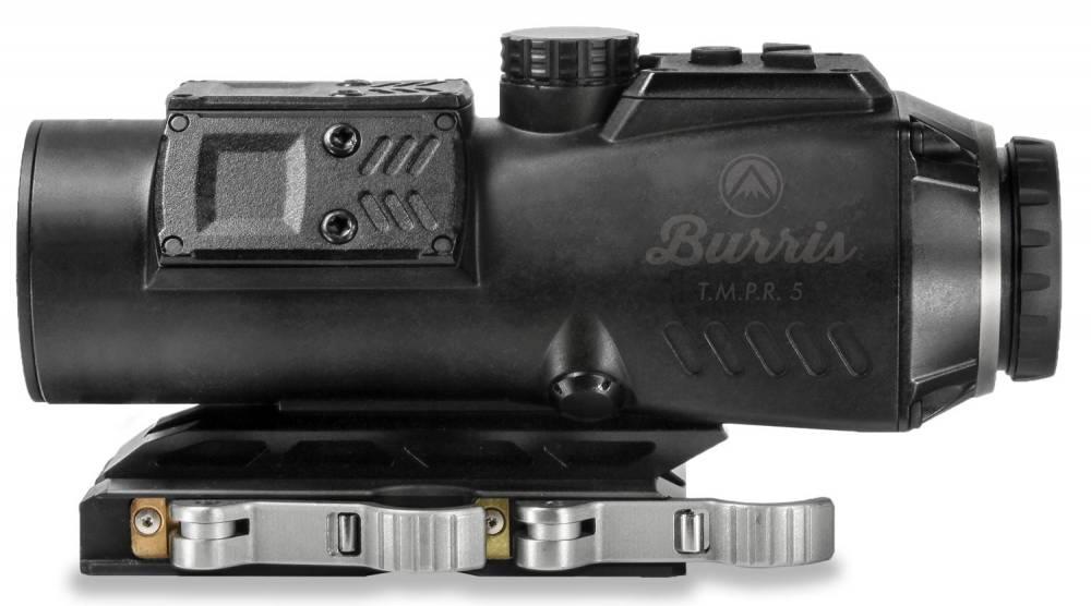 Burris 300229 T.M.P.R. 5 Prism Sight Combo 5x 32mm Obj Illuminated Ballistic AR Red/Green/Blue Black Matte CR123A Lithium