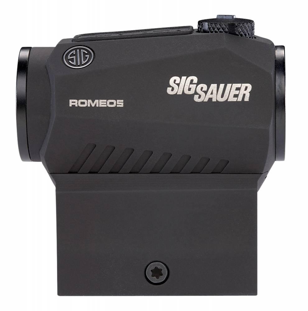 Sig Sauer Electro-Optics SOR50000 Romeo5 High Mount 1x 20mm 2 MOA Dot Red Dot Black