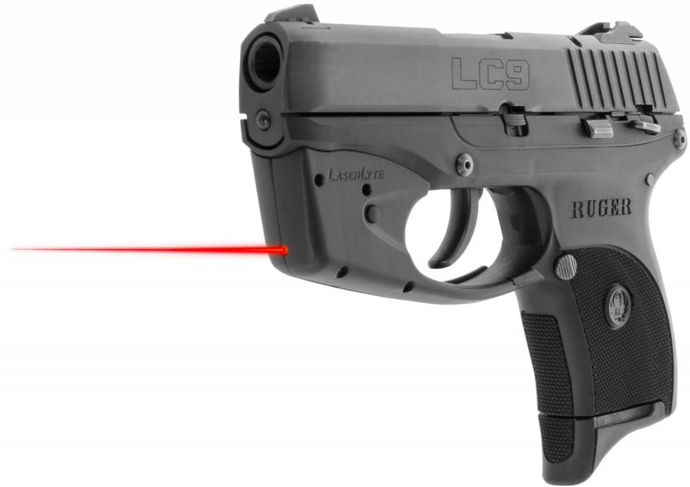 LaserLyte Trigger Guard Laser Ruger LC9, LCP, LC380 Red