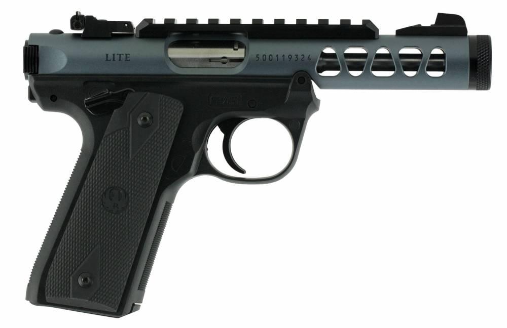Ruger Mark IV 22/45 Lite Single 22 Long Rifle (LR) 4.4