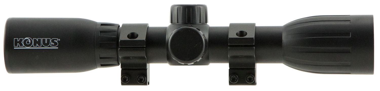 Konus 7350 KonusFire  4x 32mm Obj 23.7 ft @ 100 yds FOV Black Finish 30/30 w/Rings