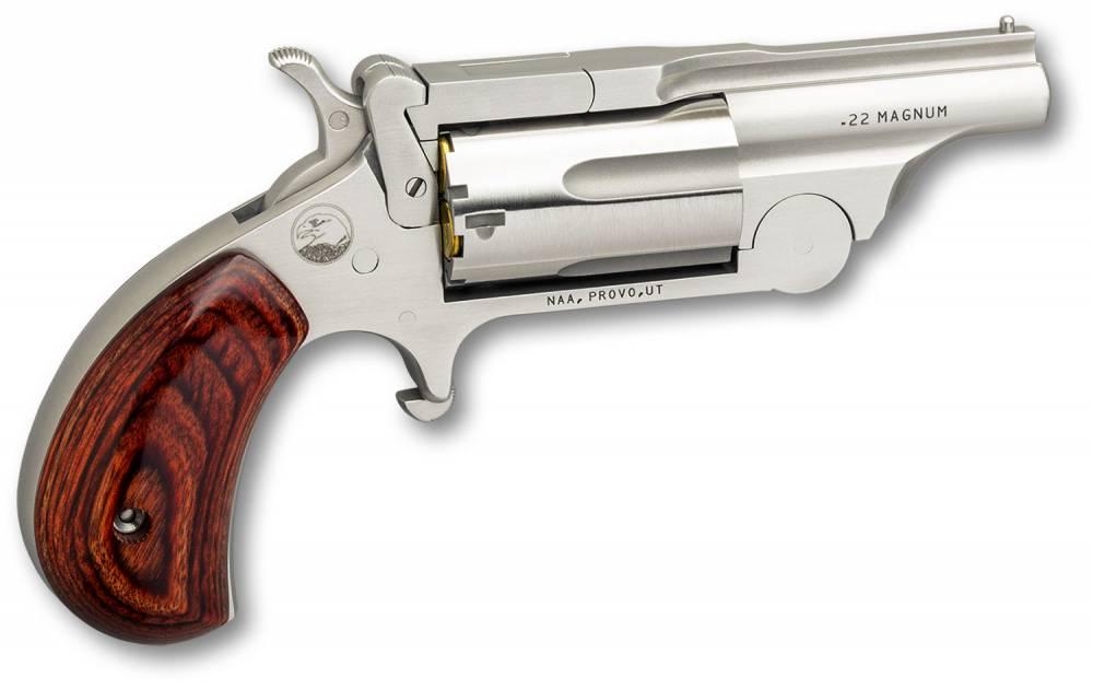 NAA Ranger II Break-Top Single 22 Long Rifle/22 Winchester Magnum Rimfire (WMR) 1.625