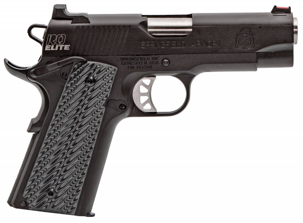 Springfield Armory 1911 Range Officer Elite Champion Single 45 Automatic Colt Pistol (ACP) 4