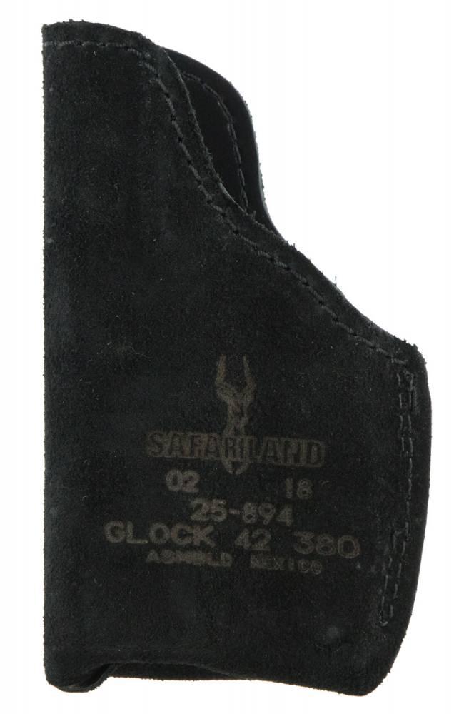 Safariland 2589421 Model 25 Pocket Fits Glock 42 Suede Black