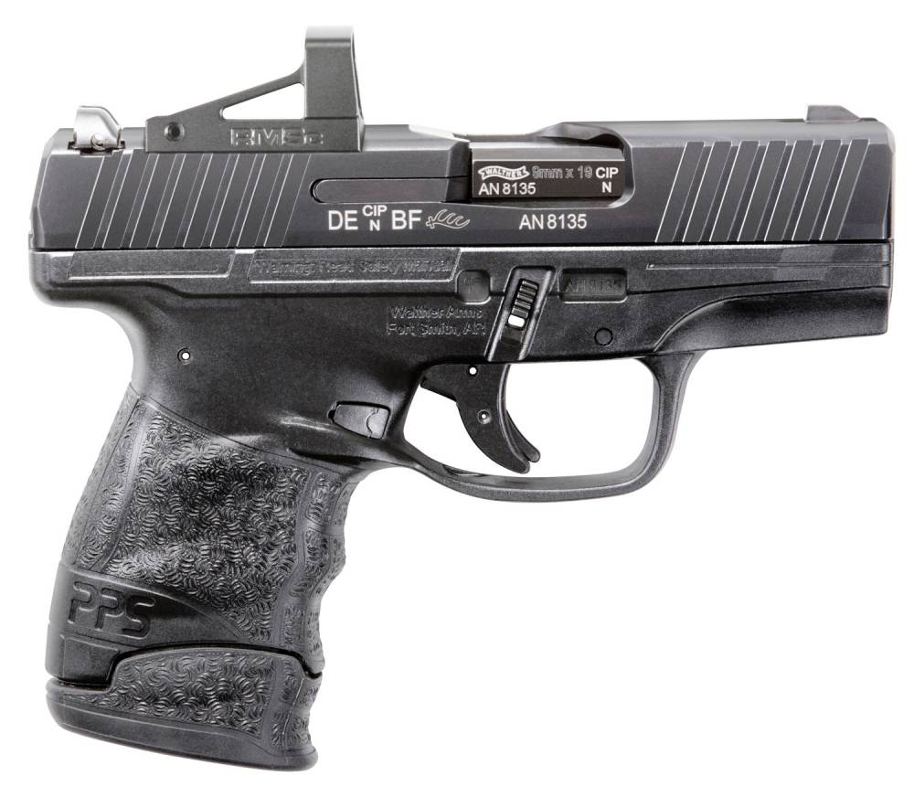 Walther Arms 2805961RMS PPS M2 9mm Luger 3.18