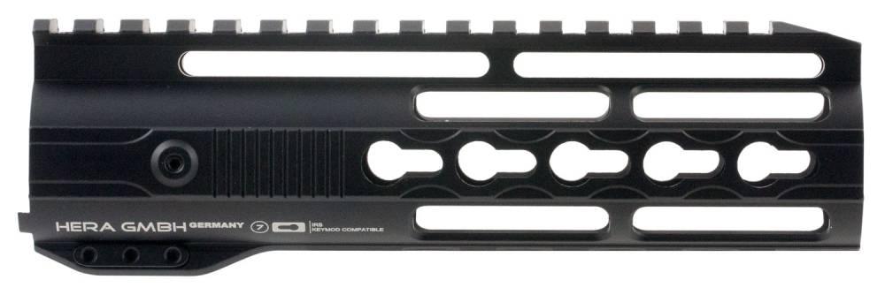Hera 110515 IRS AR15 Rifle Aluminum Handguard with Keymod Black Hard Coat Anodized 7