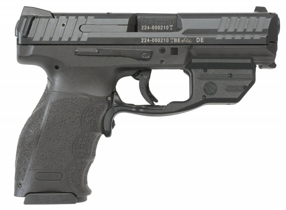 HK VP9 Crimson Trace Green Double 9mm Luger 4.09