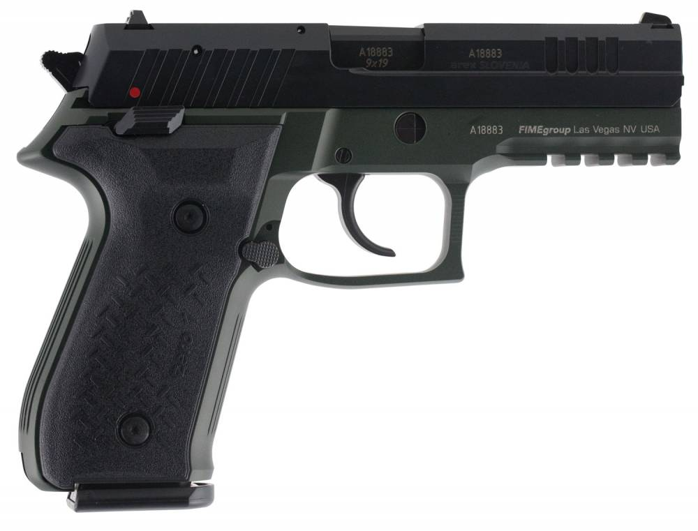 Arex REXZERO1S07 Rex Zero 1 Standard 9mm Luger 4.30