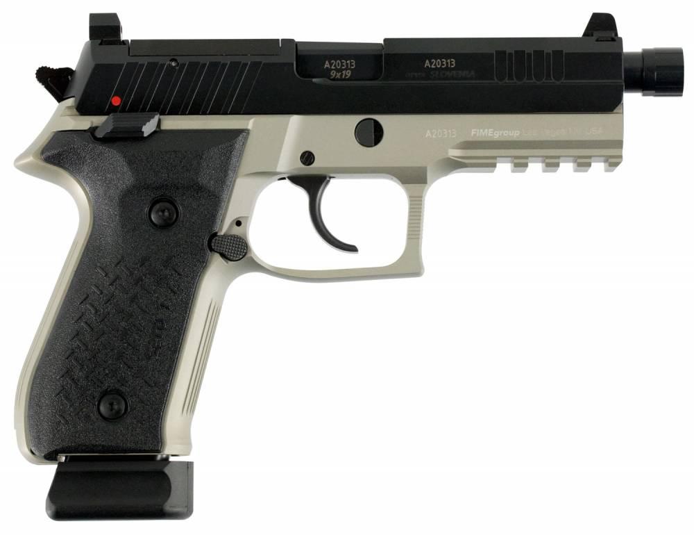 FIME Group LLC REXZERO1T-13 Rex Zero 1 Tactical Single/Double 9mm Luger 4.9